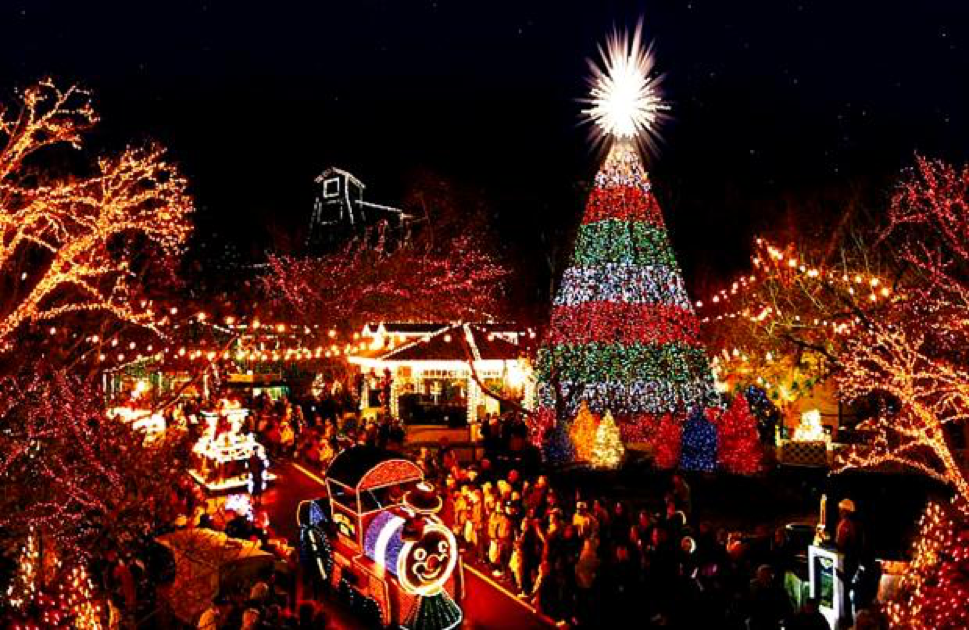 mcadenville nc might be lost amongst other small towns except for using the christmas theme to help brand the city as christmas town usa