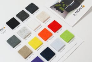 ezoBord Color Chart and Brochure