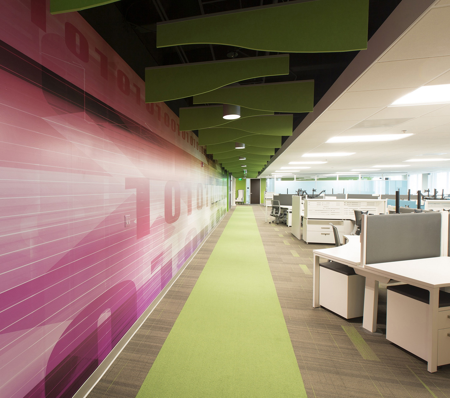 Ultimate Software Weston Uses P2 Interiors