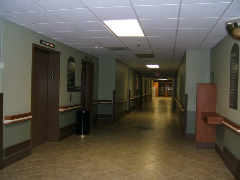 Glenwood Regional Medical Center Hospital renovates with Texturglas
