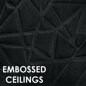 Embossed ceilings