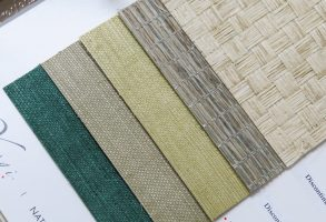 Yahgi Grasscloth Wallcovering Samples