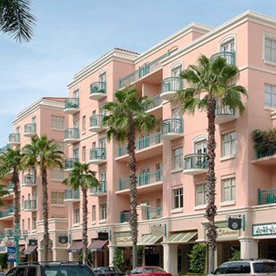 NuDoor Facings Mizner Park Apartments