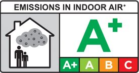 Novelio Emissions in indoor Air