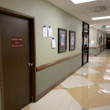 Union General Hospital Paintable Glass Textile Wallcovering