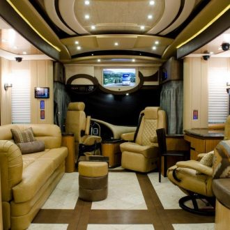 EcoDomo+leatther+floor+in+RV+-+Ceramic+and+leather